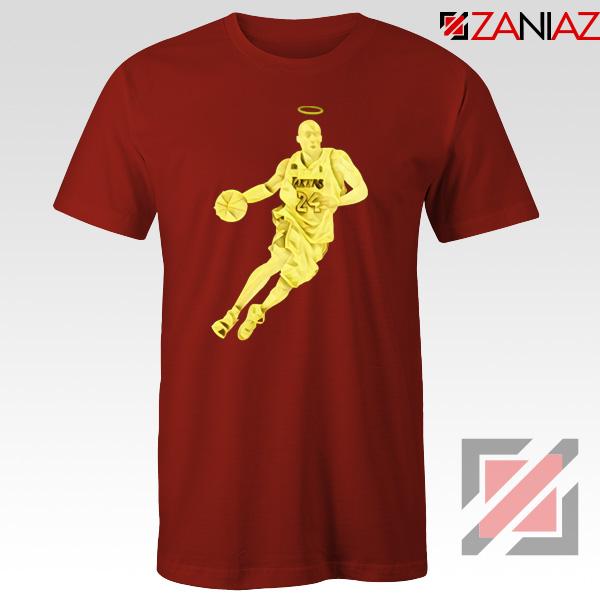 Lakers Kobe Bryant Poster Red Tshirt