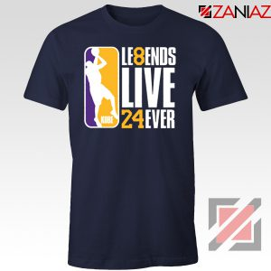 Legends Kobe Live Forever Navy Tshirt