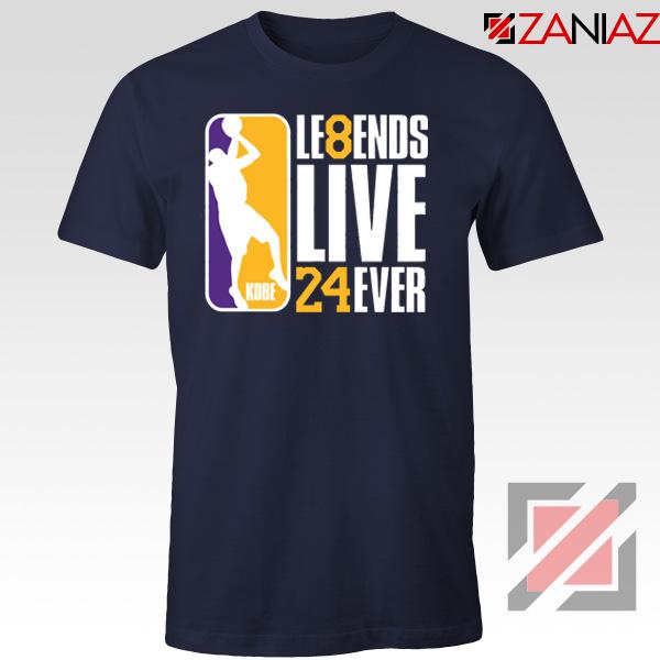 Legends Kobe Live Forever Navy Tshirt