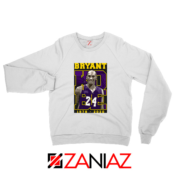 Los Angeles Lakers RIP Sweatshirt Kobe Bryant S-2XL