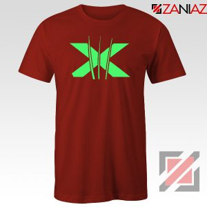 Neon X Men Claw Red Tshirt