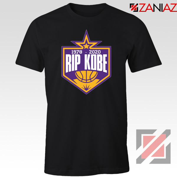 RIP Kobe Bryant 1978 2020 Black Tshirt