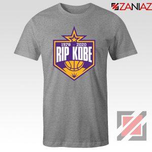 RIP Kobe Bryant 1978 2020 Grey Tshirt