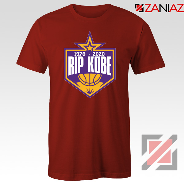 RIP Kobe Bryant 1978 2020 Red Tshirt