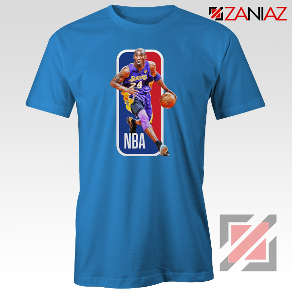 RIP Kobe Bryant NBA Lakers 24 Blue Tshirt