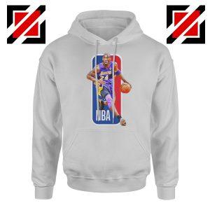 RIP Kobe Bryant NBA Lakers 24 Grey Hoodie