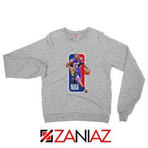 RIP Kobe Bryant NBA Lakers 24 Grey Sweater