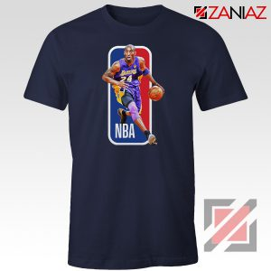 RIP Kobe Bryant NBA Lakers 24 Navy Tshirt