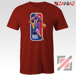 RIP Kobe Bryant NBA Lakers 24 Red Tshirt