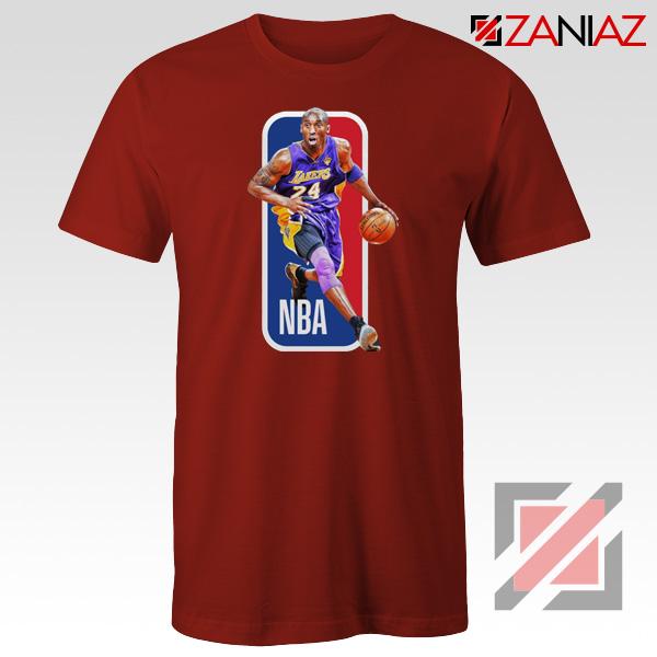 RIP Kobe Bryant NBA Lakers 24 Red Tshirt