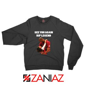 See You Agaian Legend Black Sweatshirt