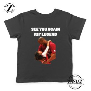 See You Agaian Legend Black Youth Tshirt