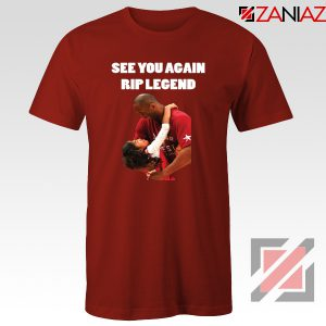 See You Agaian Legend Kobe Red Tee Shirt