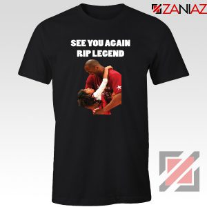 See You Agaian RIP Legend Kobe Tee Shirt Basketball Player