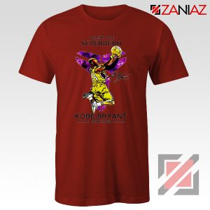 Thank You Superhero Kobe Bryant Red Tshirt