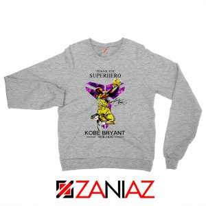 Thank You Superhero Kobe Bryant Sweater