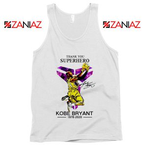Thank You Superhero Kobe Bryant Tank Top