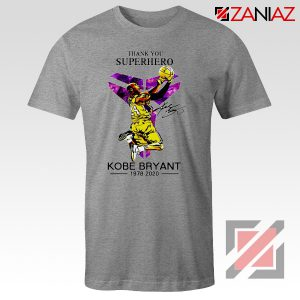 Thank You Superhero Kobe Bryant Tshirt