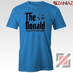 The Donald Blue Tee Shirt Parody Trump