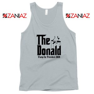 The Donald Grey Tank Top Parody Trump