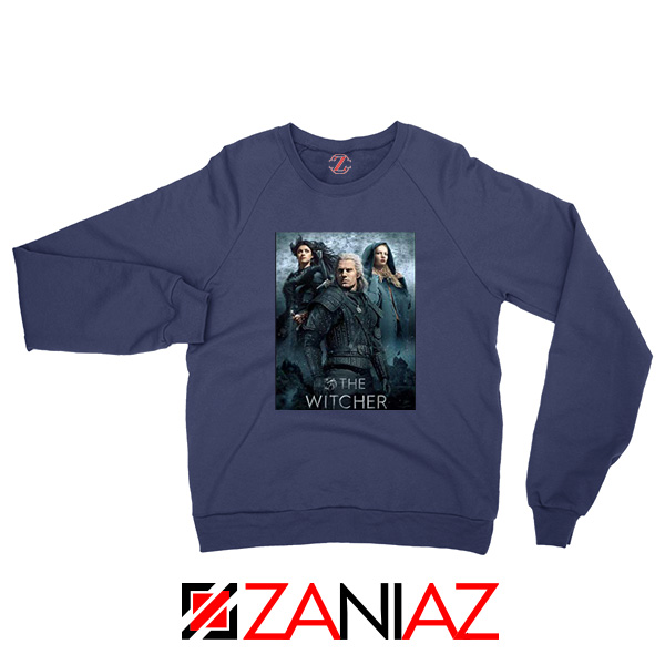 The Witcher Season 1 Navy Sweater