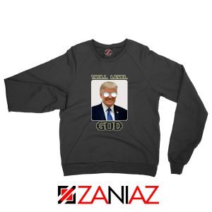 Troll Level God Donald Trump Sweater