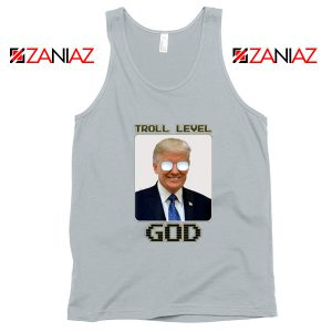 Troll Level God Donald Trump Tank Top