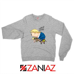 Trump And The Mexican Donkey Sweater