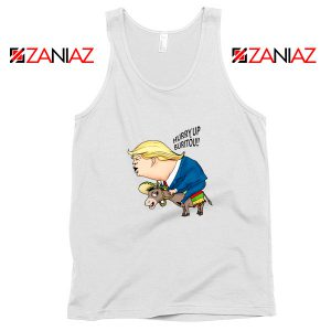 Trump And The Mexican Donkey Tank Top