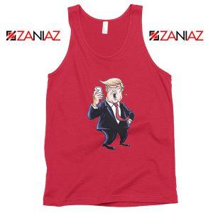 Trump Funny Cartoon Tank Top