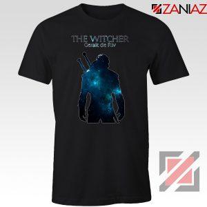 Witcher Geralt Of Rivia Black Tee Shirt