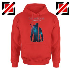 Witcher Geralt Of Rivia Red Hoodie
