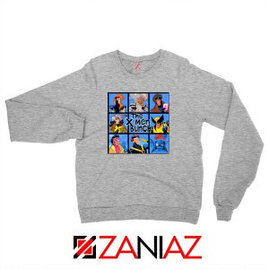 X Men Bunch Grey Sweater