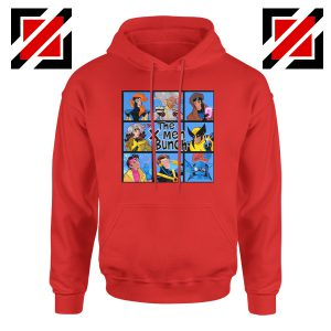 X Men Bunch Red Hoodie