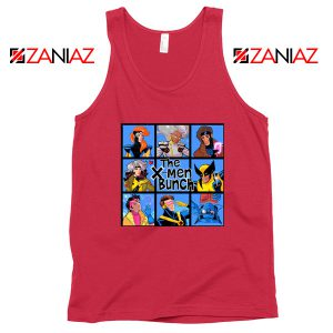 X Men Bunch Red Tank Top