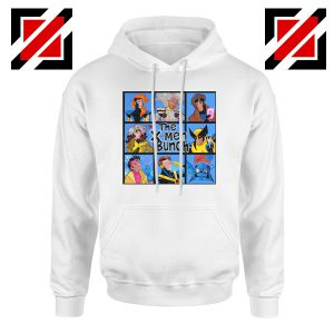 X Men Bunch White Hoodie