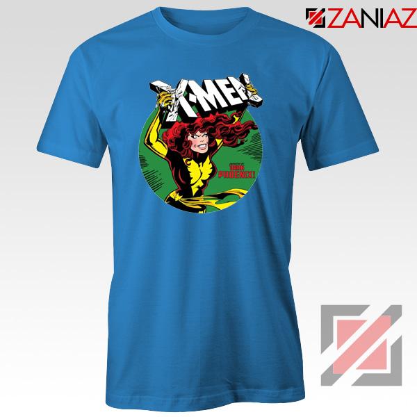 X Men Defeated Blue Tee Shirt