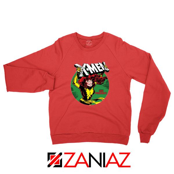 X Men Defeated Red Sweatshirt