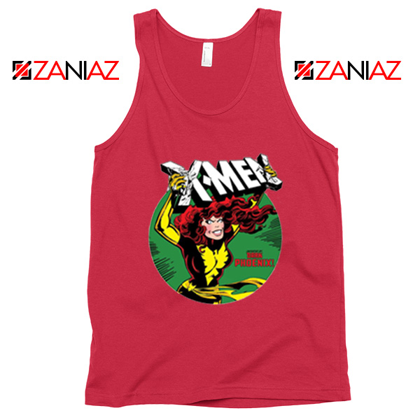 X Men Defeated Red Tank Top