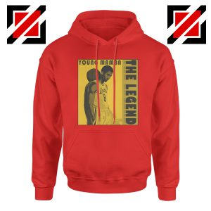 Young Mamba Red Hoodie