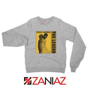 Young Mamba Sweatshirt The Legend NBA Sweaters S-2XL