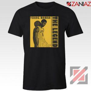 Young Mamba Tee Shirt The Legend NBA Tshirts S-3XL
