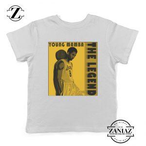 Young Mamba White Kids Tshirt