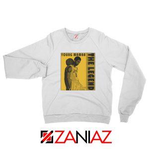Young Mamba White Sweatshirt