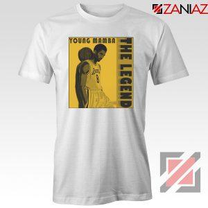 Young Mamba White Tee Shirt