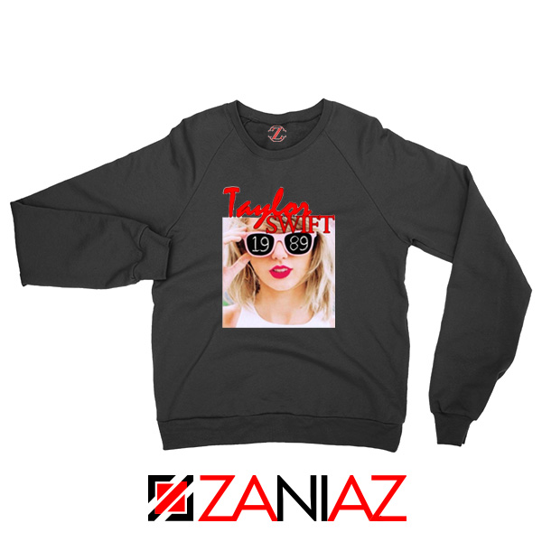 1989 Taylor Swift Black Sweater