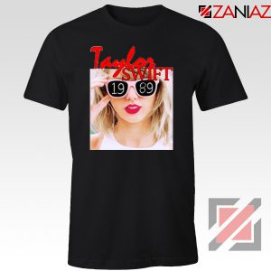 1989 Taylor Swift Black Tee Shirt