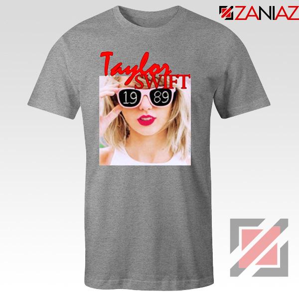 1989 Taylor Swift Grey Tee Shirt