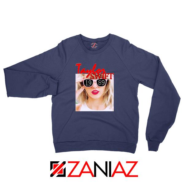 1989 Taylor Swift Navy Sweater