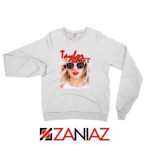 1989 Taylor Swift White Sweater